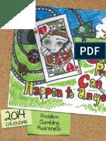 2014 Oregon Problem Gambling Awareness Calendar
