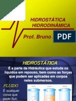 hidrostática e hidrodinâmica
