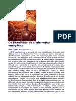 ALINHAMENTO DOS CHACRAS