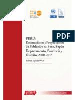 INEI Peru Bol18 Estimaciones Proyecciones 2000 2015