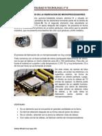 El Uso Del Silicio en La Fabricacion de Microprocesadores