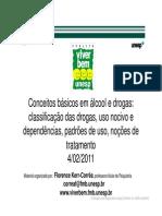 álcool e drogas conceitos básicos_Dra. Florence