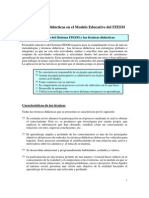 Las t Cnicas Did Cticas en El Mod. Ed. Del ITESM