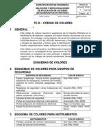Código de Colores PDVSA