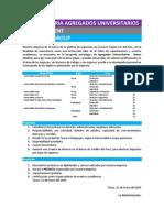 CONVOCATORIA PARA AGREGADOS UNIVERSITARIOS - NEXUS STUDENT, NEXUS GROUP (TACNA - MOQUEGUA)