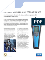 Alinhador de Eixos a Laser TKSA 20 Da SKF