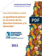 La Igualdad de Genero en El Marco de DH y D