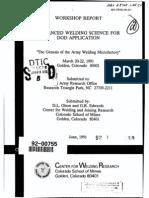 the genesis of the army welding microfactory