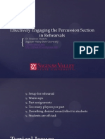 MMC Percussion Presentation