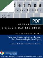 Globalização e Ciência das Religiões