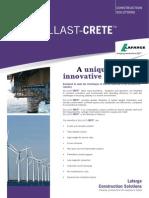 BALLAST-CRETE Offshore Datasheet