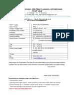 Form Daftar Diklat AK