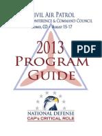National Board Meeting Program (2013)
