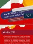 AAPNOMICS – Blocking of Retail FDI in India