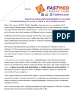 January 15, 2014 - FastMed Urgent Care Reports Dramatic Increase in Flu Patient's Seen