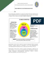 3. El Enfoque Ambiental en Los Procesos Educativos