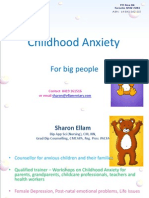 Childhood Anxiety PPT