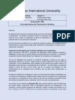 Evaluación 360 La nueva evaluación holística