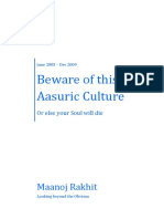 (10) (88) Beware of This Aasuric Culture - Or else your Soul will die