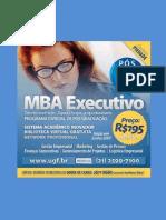 mba executivo logistica empresarial