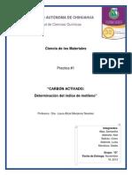Practica 1 Carbon Activado