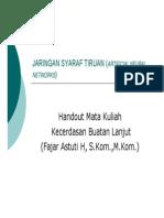 4 Jaringan Syaraf Tiruan Rev