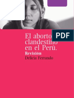 Aborto Clandestino Peru