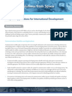 Space Apps for Intl Development