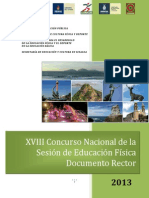 Documento Rector Sinaloa 2013