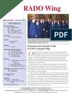 Colorado Wing - Annual Report (2010)