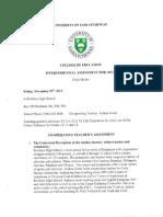 Internship Assessment - Saskatchewan