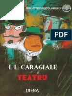 Caragiale Luca Ion - Teatru (Tabel Crono)