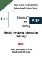 Module-I Introduction to Instructional Technology.pdf
