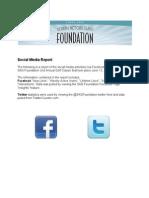 SAG Golf Classic Social Media Report