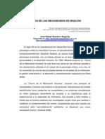 Teoria Maslow Jose Quintero