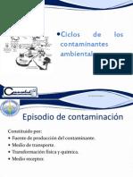 3. Ciclos de Los Contaminantes
