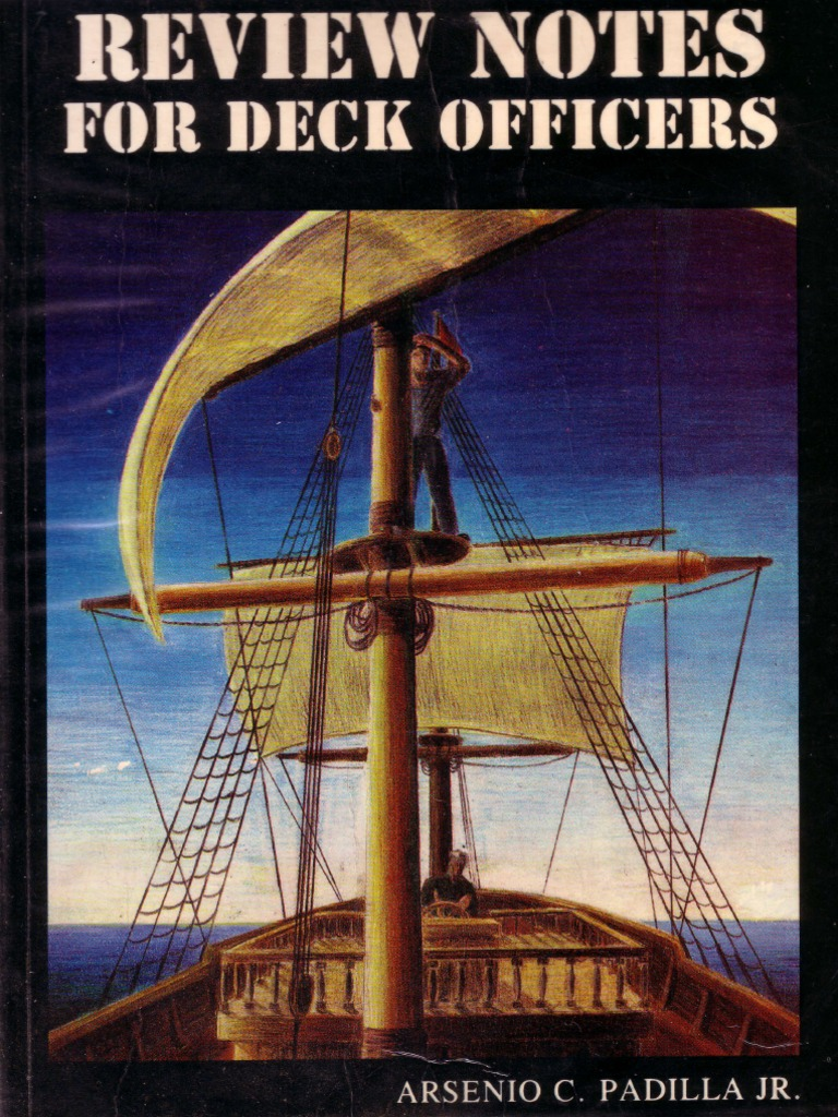 Review Notes for Deck Officers - Padilla | Tide | Sea Level