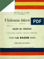 9 Conferencias de Luis E. Recabarren