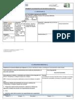 Instrumento de Registro de Secuencia Didactica 3