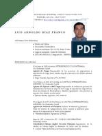 Luis Diaz Curriculum Vitae