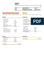 Balance Sheet With Working Capital1