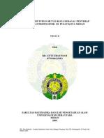 Analisis Kebutuhan Hutan Kota Sebagai Penyerap Gas Co2