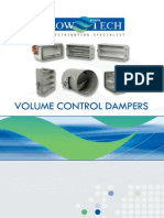 GA - Volume Control Dampers