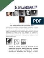 Historia de La Hidraulica