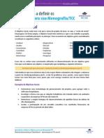 Objetivo Geral e Objetivos Específicos no TCC
