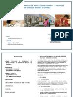 Grupo 4 - Tipologia y Desarrollo de Instalaciones Sanitarias
