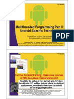 Android Multithreaded Programming 2