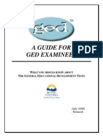Ged Guide Examinees