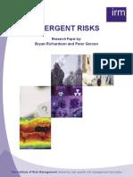 Irm Emergent Risks