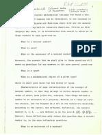 Per Martin Löf, Informal Notes on Foundations